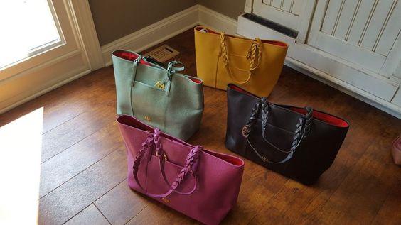 PRIX DE DRESSAGE Braid Detailed Double Handle Large Tote Bag-4 Colors-NWOT in Clothing, Shoes & Accessories, Women's Handbags & Bags, Handbags & Purses | eBay