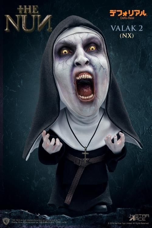 Star Ace Toys Defo Real The Conjuring The Nun Valak Open Mouth The Conjuring Valak Vinyl Figures