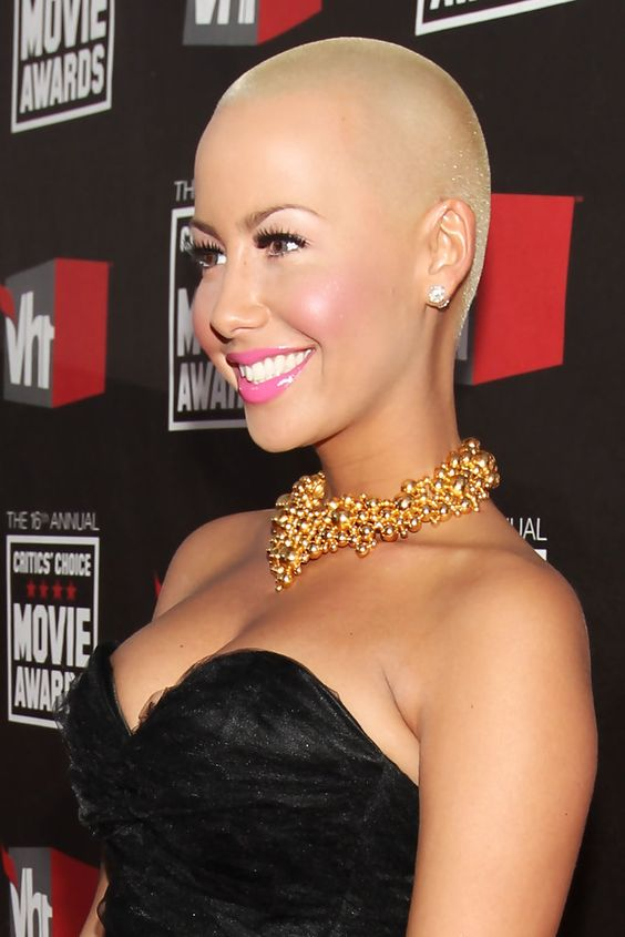 Amber Rose ...... Rose gained notoriety after posing for a ...