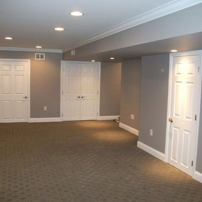 Basement remodel design pictures remodel decor and Basement ceiling color ideas