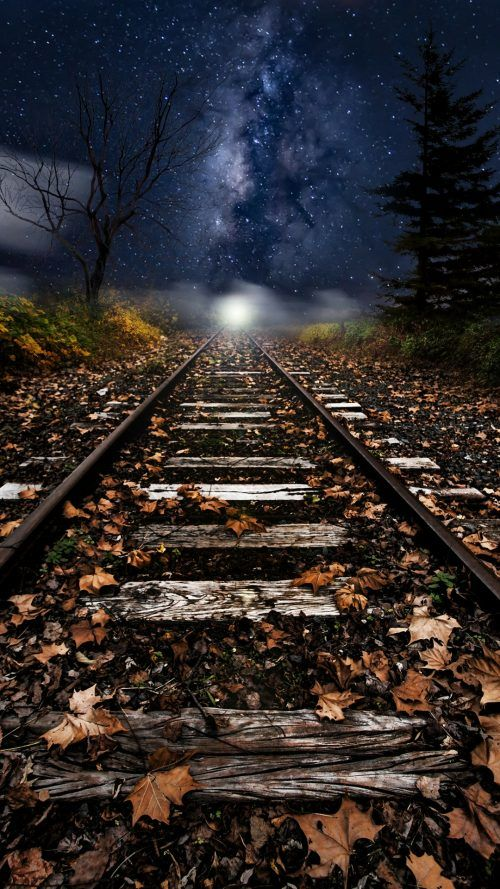 Xiaomi Redmi Note 4 Wallpaper With Artistic Picture Of Old Railway Hd Wallpapers Wallpapers Download High Resolution Wallpapers Train Tracks Photography Track Pictures Artistic Pictures