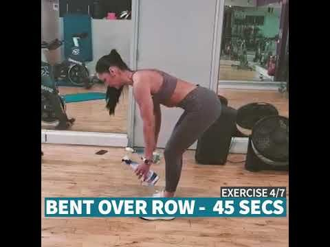 Verve Gym Hiit Workout With Eva Youtube Hiit Workout Hiit Workout