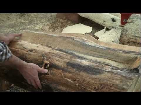 How To Make Rustic Log Furniture   Cutting The Log | Rustic Furniture |  Pinterest | Rustic Log Furniture, Log Furniture And Logs
