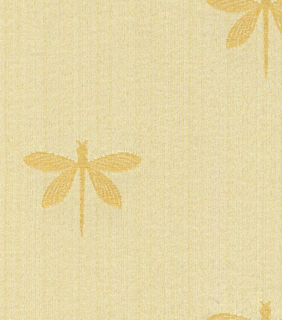 Swavelle Millcreek Upholstery Fabric Imperial Dragonfly Gold