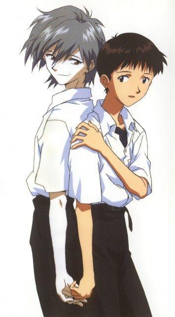 Kaworu Nagisa- Evangelion by silverphani on DeviantArt