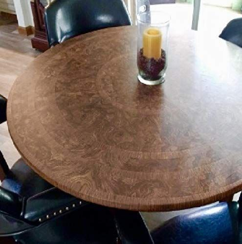 Table Cloth Round Elastic Edge Fitted, Round Fitted Table Covers