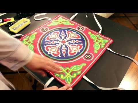 Diy Bread Fabric Basket طريقة عمل سلة العيش من القماش Youtube Ramadan Crafts Ramadan Activities Ramadan Decorations
