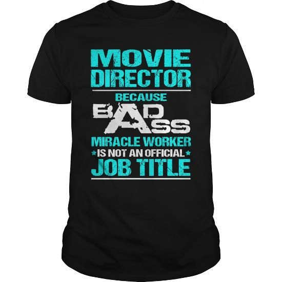 cool Movie Director T-shirt thing