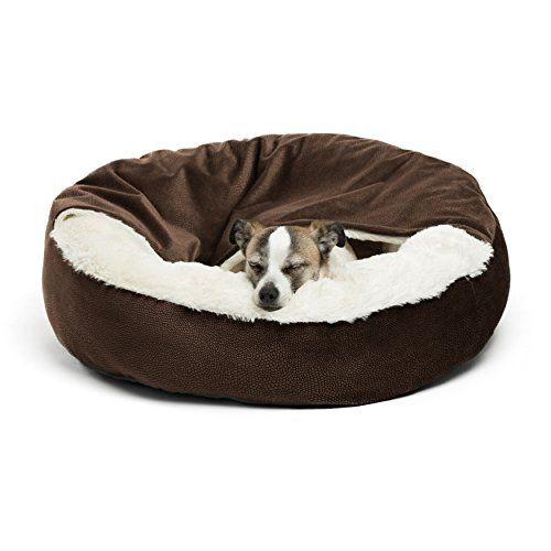 Best Friends By Sheri Cozy Cuddler Dark Chocolate Cozy Dog Bed