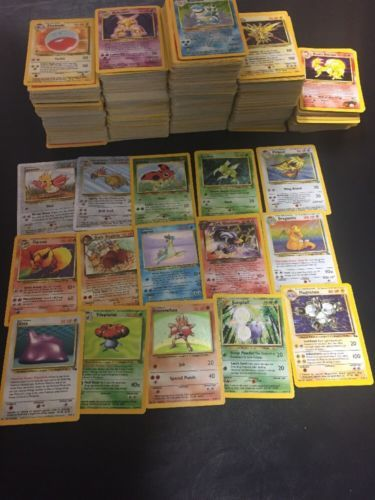 Huge lot of classic pokemon cards! Rares and Rare Holos!  https://t.co/lctNotYz21 https://t.co/LobrGihFnV