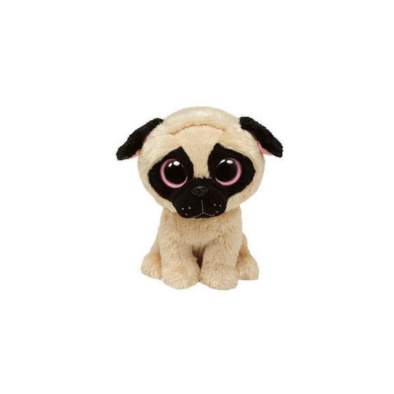 TY Beanie Boos PUGSLY the Pug Dog (Regular Size 6 inch) ($5.99) ❤ liked on Polyvore