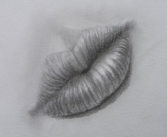 How to Draw a Realistic Mouth With Pencil Step by Step - How to Draw Lips