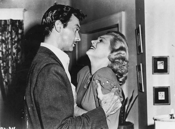 A fall-guy attorney (Zachary Scott) gets physical with a double-crossing femme fatale (Virginia Mayo) in Flaxy Martin (Warner Bros., 1949).