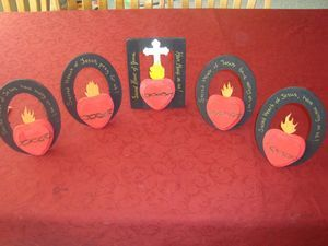 Sacred Heart of Jesus craft for June