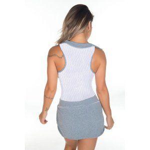 Vestido Fitness Rendado Mescla Garota Fit