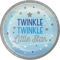 One Little Star Sininen, Lautaset 8 kpl