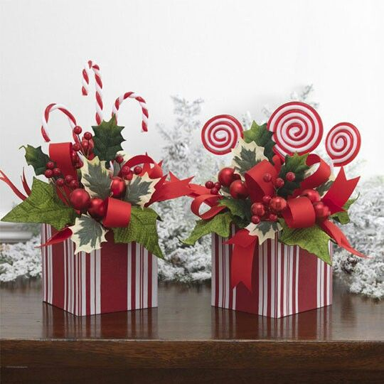 20 best Christmas Centerpieces images on Pinterest | Christmas ...