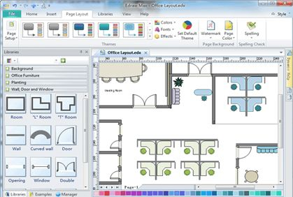 Free Floor Plan Software 2d Home Design Plans
