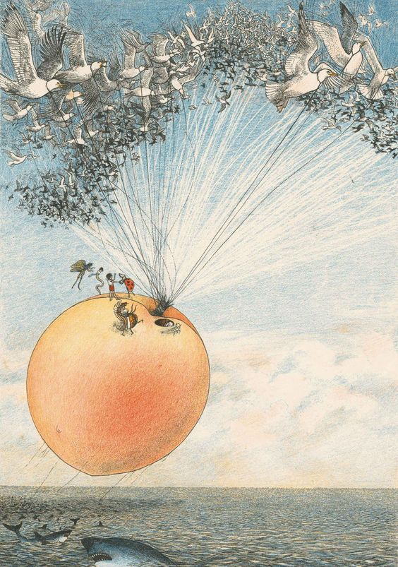 Nancy Ekholm Burkert's James and the Giant Peach: a gothic fairytale