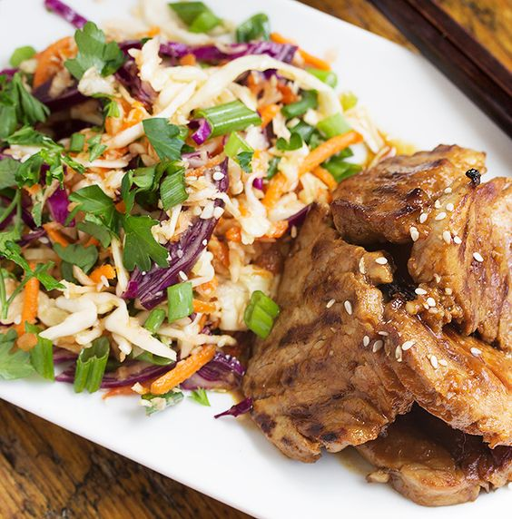 quick easy asian grilled pork recipe