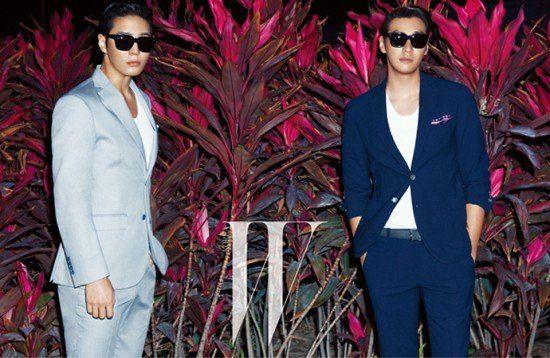 Joo Won and Kim Young Kwang Pose for W Korea | Koogle TV