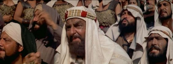 The Arab Sheik Iderim, owner of the white stallions Judah Ben-Hur rides in the chariot race, and a strong supporter of Ben-Hur. He roots fro the underdog in this race all the way through. Ben-Hur 1959