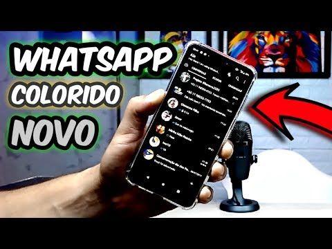 Whatsapp Novo Aplicativo Com Multi Cores E Temas Instale Agora