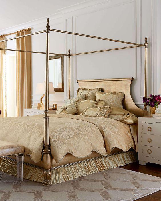 Caterina Queen Canopy Bedroom Set