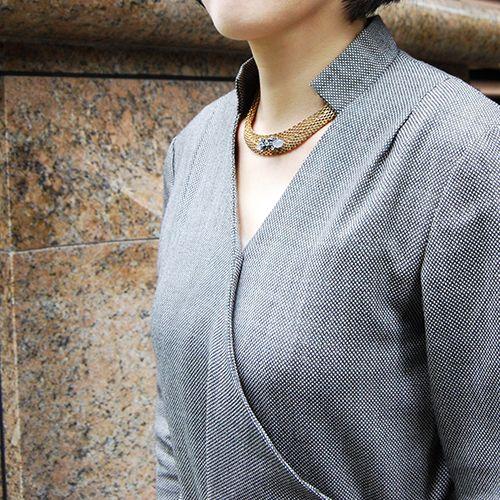 #chalcedony #topaz #necklace by #cristinazazo