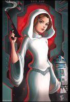 Princess Leia by chrissie-zullo
