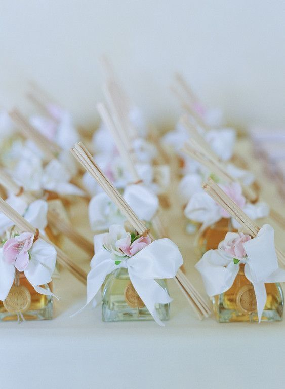 Wedding favor idea - reed diffuser - home fragrance