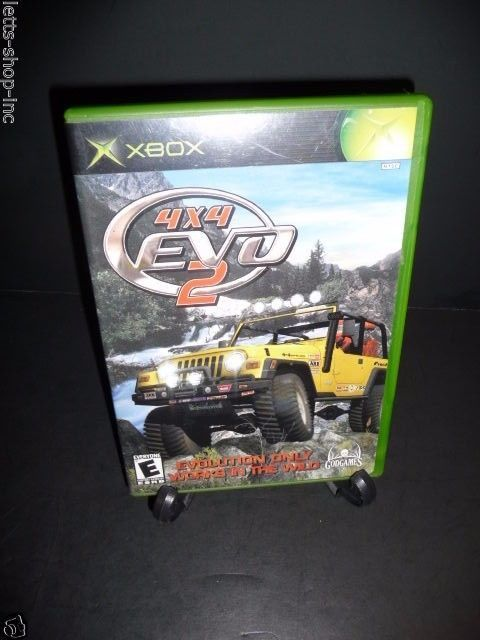 4x4 Evo 2 Microsoft Xbox 2001 Tested Complete With Manual Xbox Evo Microsoft