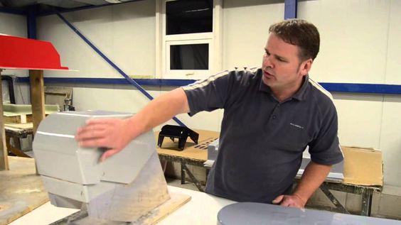 Polyester verwerking - werken met mallen