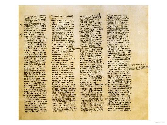 Resultado de imagen de Codex Sinaiticus
