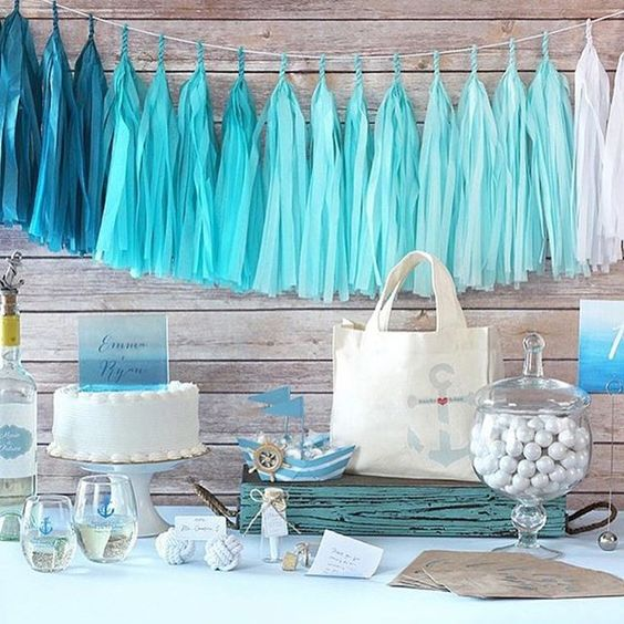 #nautical theme #party favors & decor @timelesstreasure.theaspenshops  #anchor #bottlestopper personalized stemless #wine #glasses #nauticalknot place-card holder & much more for #wedding #birthday #bridalshower #beach #summer #weddings #specialized