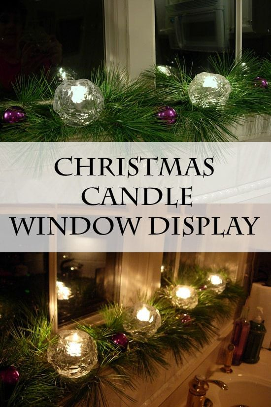 Holiday Candleglow In The Windows Christmas Lights Holiday Decor Christmas Window Display