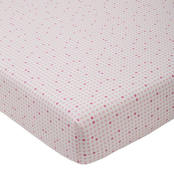 giggle Printed Fitted Crib Sheet,
