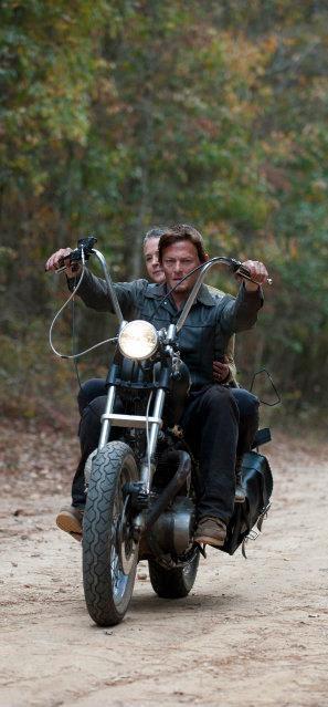 The Walking Dead. Daryl and Carol