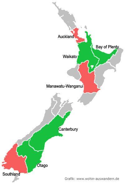 Leben und Arbeiten in Neuseeland   Wohin-Auswandern.de