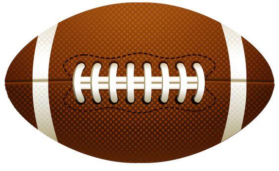 American Football Ball PNG Vector Clipart