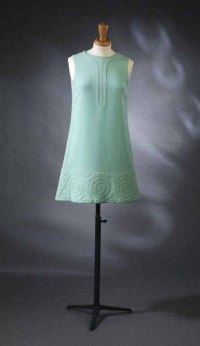 Dress  Pierre Cardin, 1968  The Victoria & Albert Museum