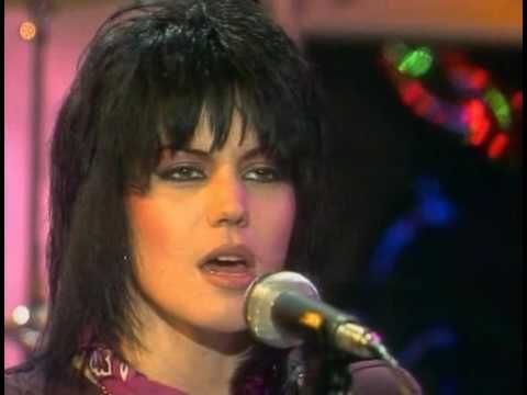 Joan Jett-Crimson and Clover. Gotta love the smoke machines. Even with the 80s hair, the eyes get me.