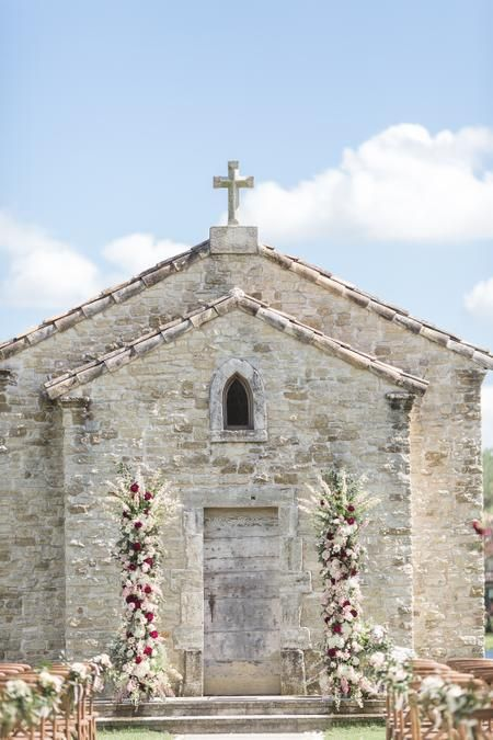 15th Century France Chapel Wedding at Clubs at Houston Oaks