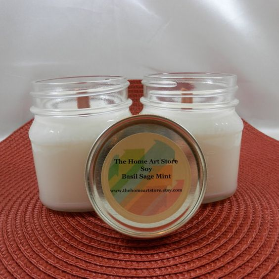 This is a Fresh and Clean scented soy candle in very cute square 8 oz mason jar. Contains a wood wick. Fragrance Oil: * Top notes: orange, lemon,