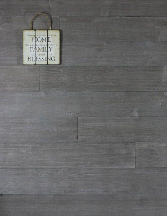 Stick On Solid Wood Wall Panels Timber Rustic Distressed Dark Grey Pebble Wood Panel Walls Wood Wall Wall Panels