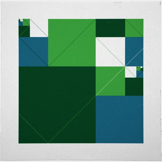 #542 Acres – A new minimal geometric composition each day.