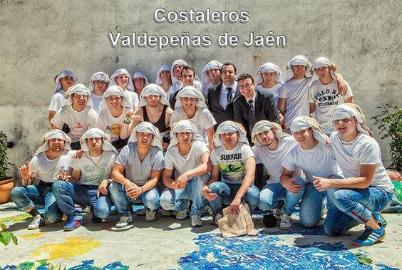 Corpus Christi - Valdepeñas de Jaén. Los Costaleros