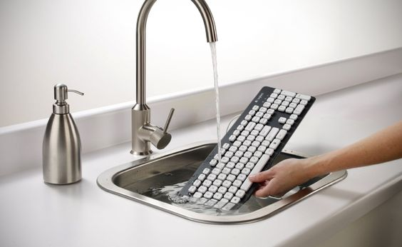 Water-resistant keyboard.