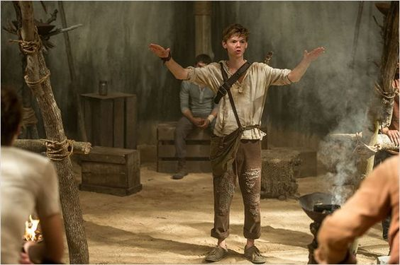 Le Labyrinthe : Photo Thomas Brodie-Sangster