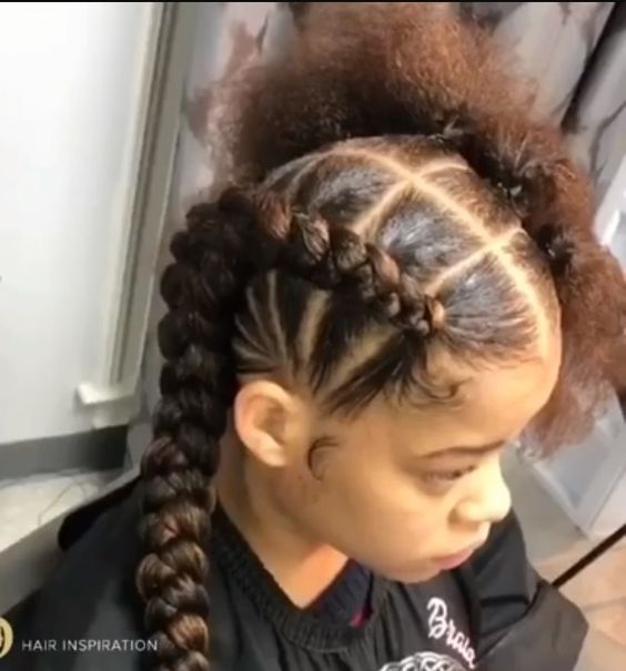 Braided Hairstyles For Kids Hairstyles Hairstylesforkids Kids Braided Hairstyles Kids Hairstyles Cornrow Hairstyles